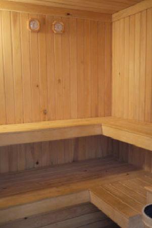 Rosali Hotel: The Sauna Room - really nice!