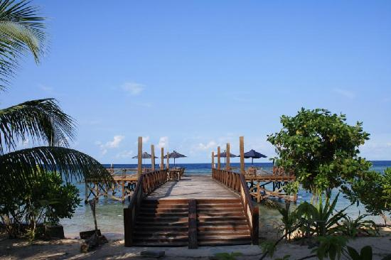 Patuno Resort Wakatobi: Jetty Restaurant Area