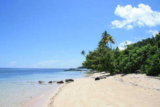 Beach in front of Patuno Resort Wakatobi