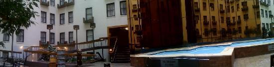 Super cool pool area!