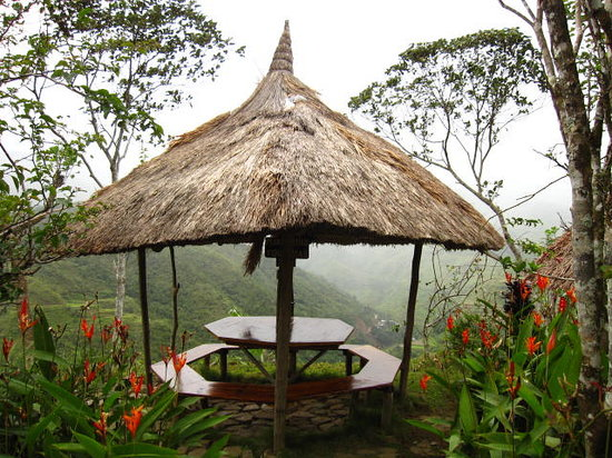 Native Village Inn & Restaurant: This is the table with the best view of rice terraces.