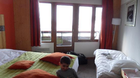 Hotel les Bruyeres : Chambre 408