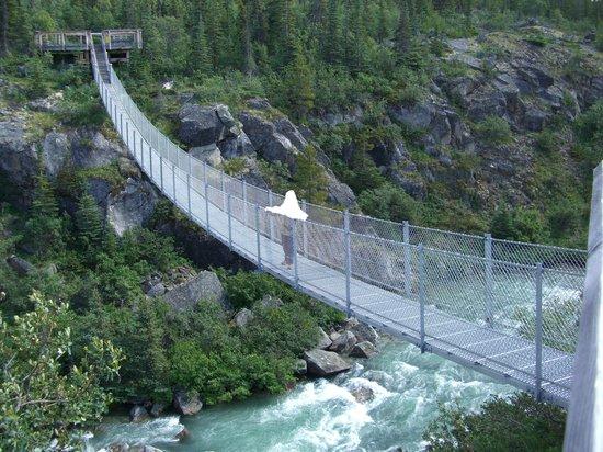 Βρετανική Κολούμπια, Καναδάς: Die Hängebrücke