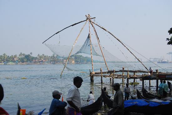 Tea Bungalow: Chinese fishing nets close by