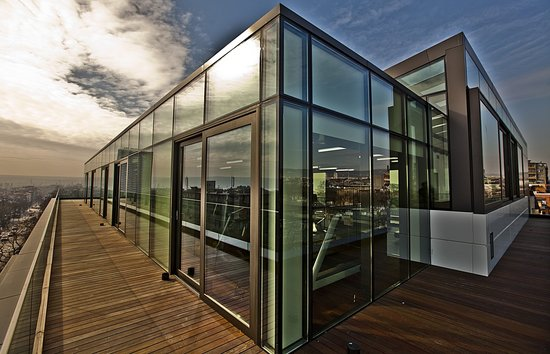 Graffit Gallery Hotel: The roof terrace