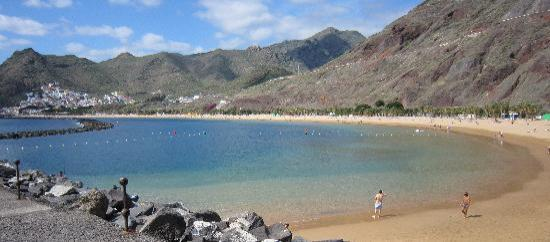Santa Cruz de Tenerife, España: Las Teresitas beach