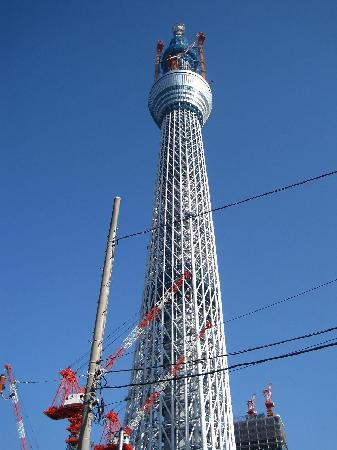 โตเกียวสกายทรี: 建設中