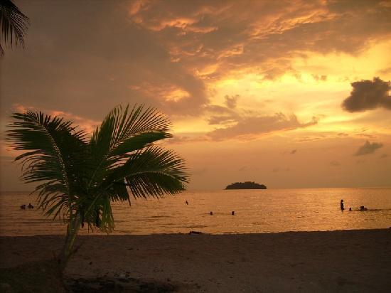 K.B. Resort: Sunset view