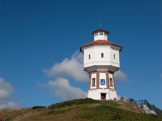 Suitenhotel Idyll Heckenrose: Der Wasserturm - das Wahrzeichen der Insel