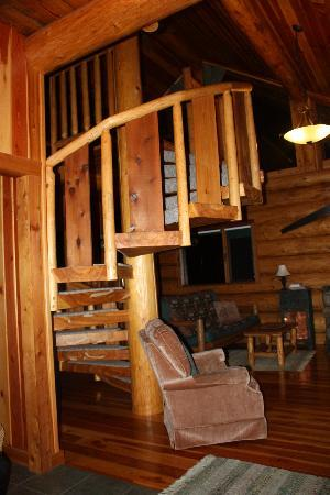 Hitching Post Resort : Staircase