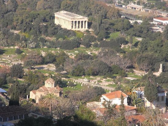 Ancient Agora of Athens: Blick zur Agora
