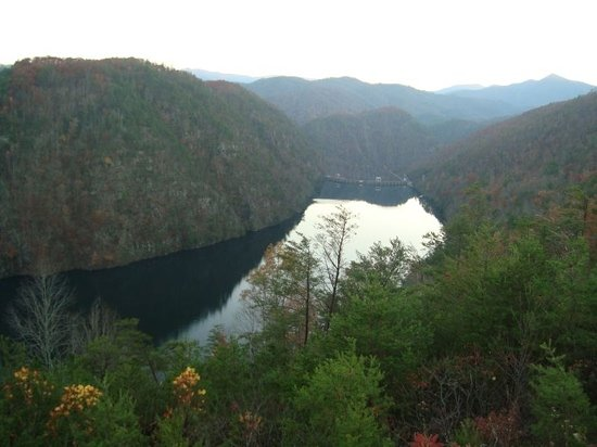 Robbinsville, Carolina do Norte: scene from tail of the dragon