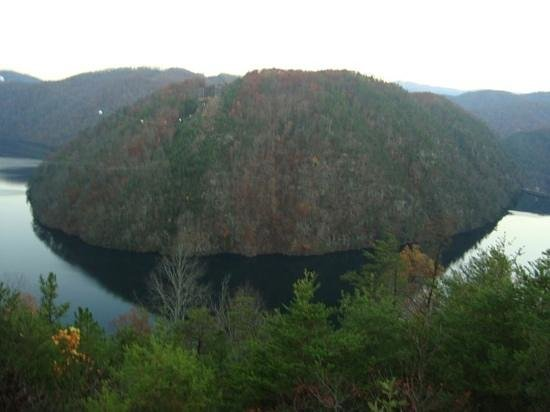 Robbinsville, NC: this view looks even great