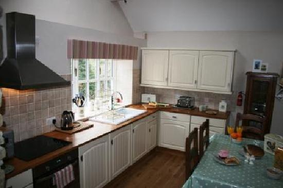 Norbury, UK: Walkmill Lodge Kitchen
