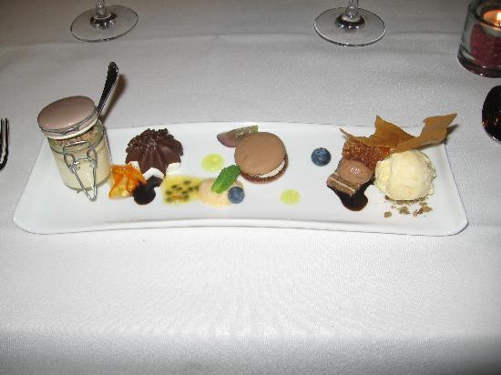De Haan, Belgien: Dessertpaletje