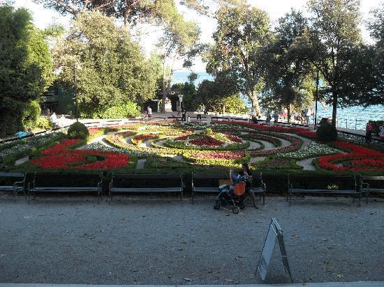 Opatija, كرواتيا: Opatija - flowers