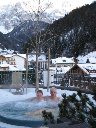 Hotel Sporting: Bain tourbillon dans la nature