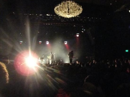 El Rey Theater : Such a great crowd!