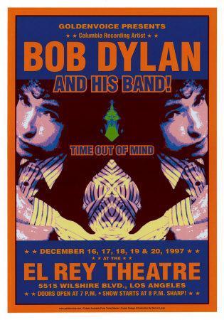El Rey Theater : Bob Dylan