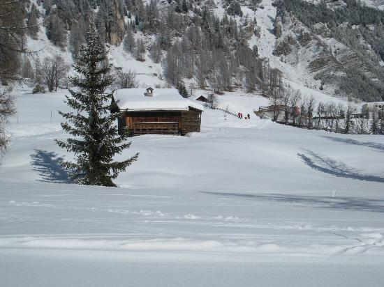 Selva di Val Gardena, Italia: Maisonnette en montagne