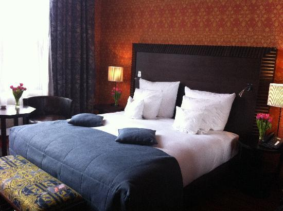 Best beds ever! - Picture of Grand Hotel Amrath Amsterdam ...