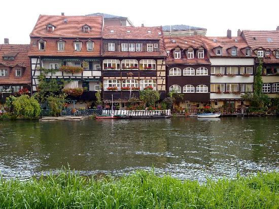 Bamberg, Allemagne : veduta dal fiume
