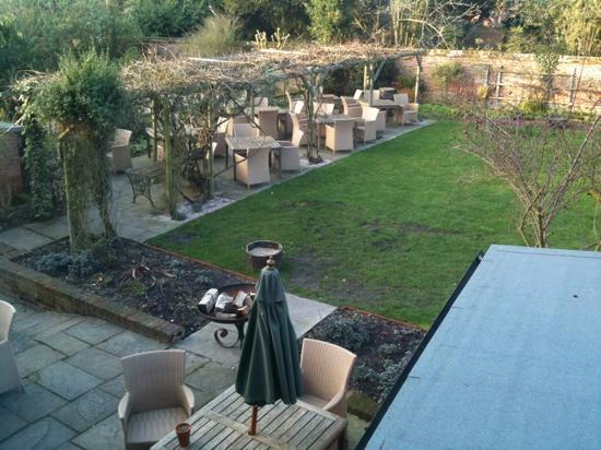 the garden at the Royal Oak