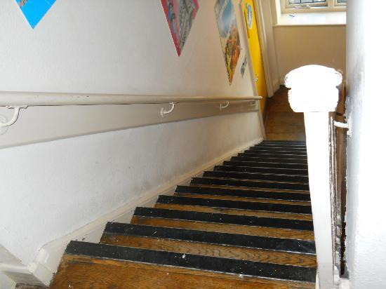 St Christopher's Inn Camden: No Lift