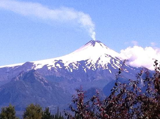 Mirador los Volcanes: La vista