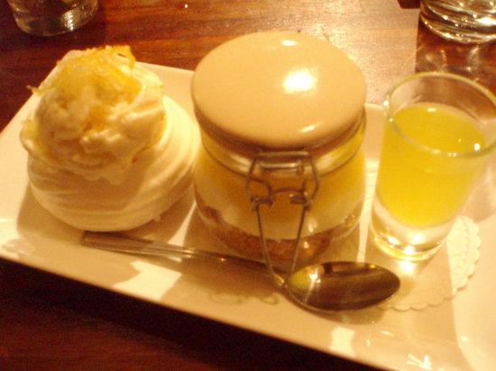 Ate O'Clock : Trio of lemon puddings