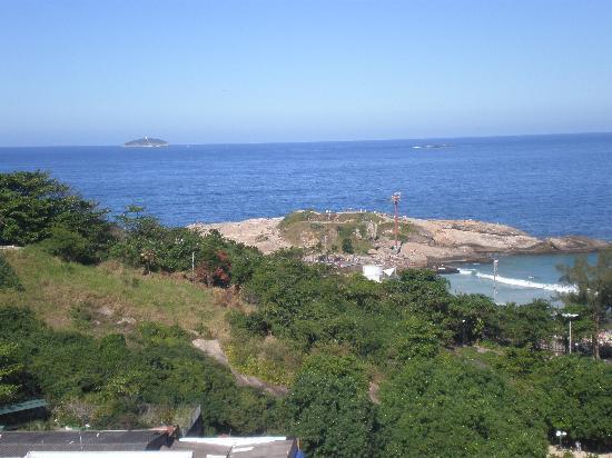 Atlantis Copacabana: Otra vista desde azotea hacia el lado de Copacabana