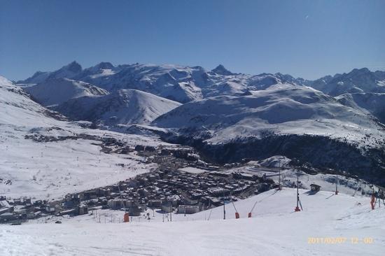 La Vallee Blanche : town