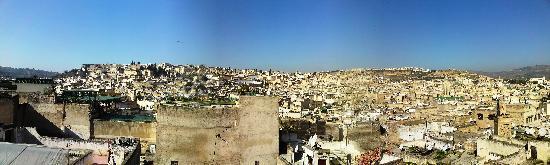 Riad Le Calife: Aussicht/Terrasse