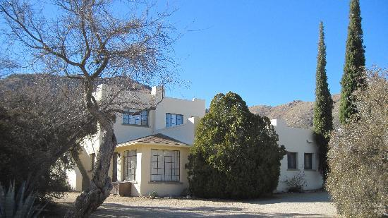 Elkhorn Ranch: one of the adobe cottages