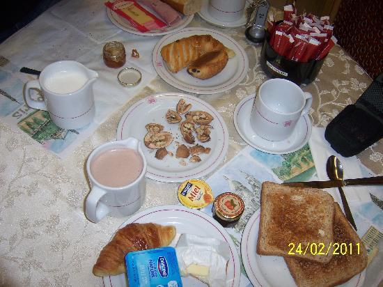 Hotel Harvey: la colazione