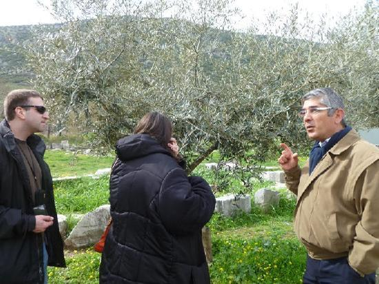 Best of Ephesus Tours by Locals-Celsus Travel: Yigit giving us an introduction to Ephesus