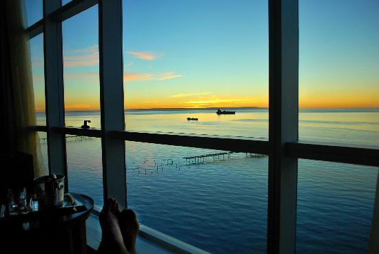 Hotel Dreams del Estrecho: amanecer en la habitacion