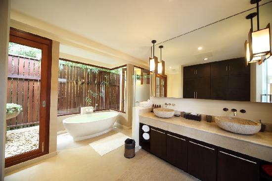 Baan Saleah Phuket Indoor Outdoor Bathrooms