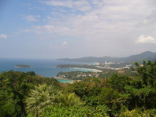 Katanoi Club Hotel : Scenery from nearby viewpoint