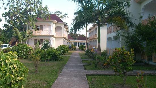 Coral Seas Garden: stanza sul vialetto interno