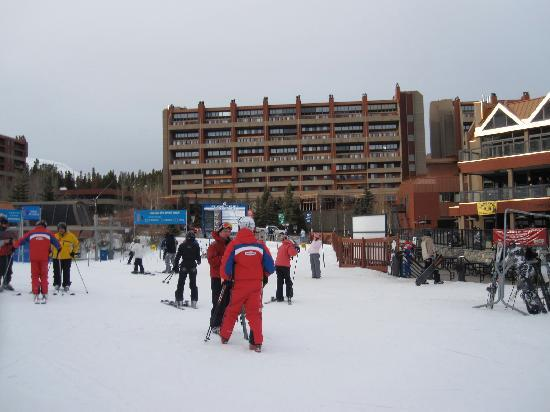 Breckenridge, CO: View of the slopes