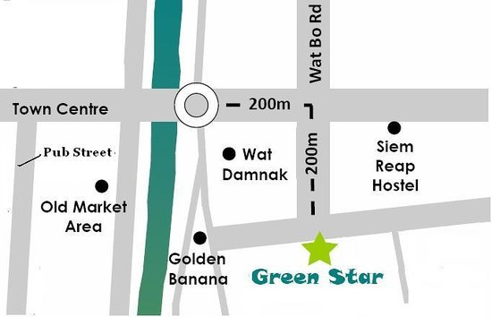 Green Star ( Not for Profit ): Green Star Location