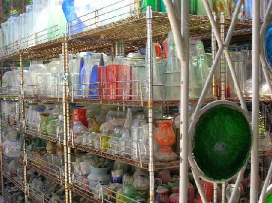 The Glass Factory : Glass Goods Galore