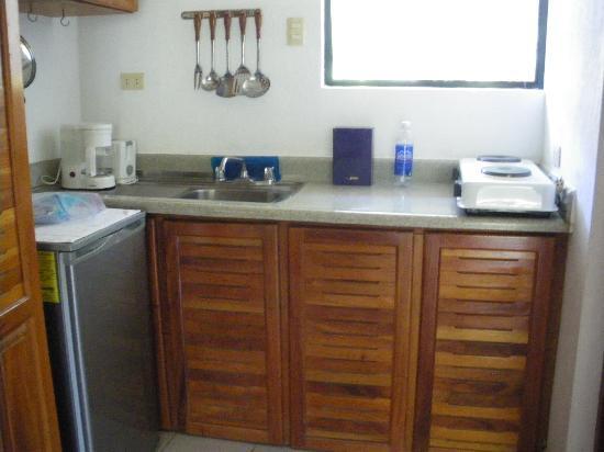 Hotel Colinas del Sol: kitchen
