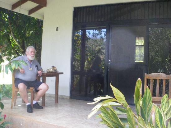 Hotel Colinas del Sol: patio
