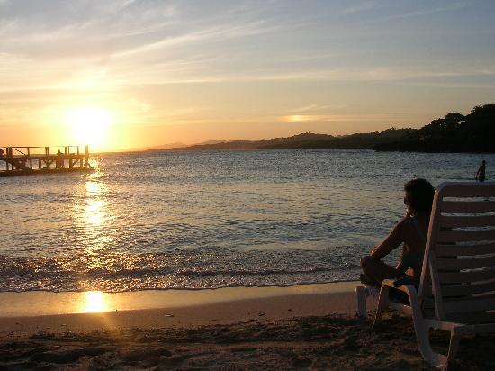 Media Luna Resort & Spa: tramonto dell'ultima sera