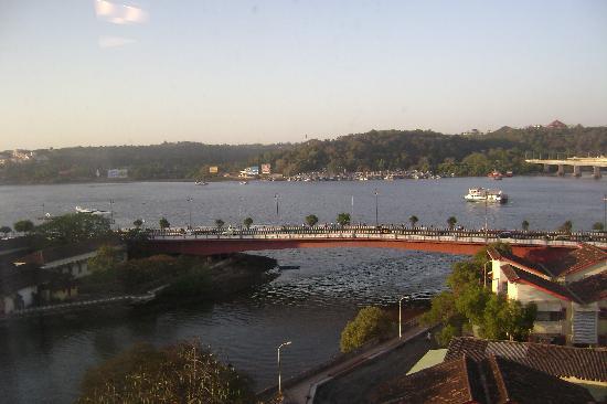 Hotel Park Prime : Actual River View: Vinod