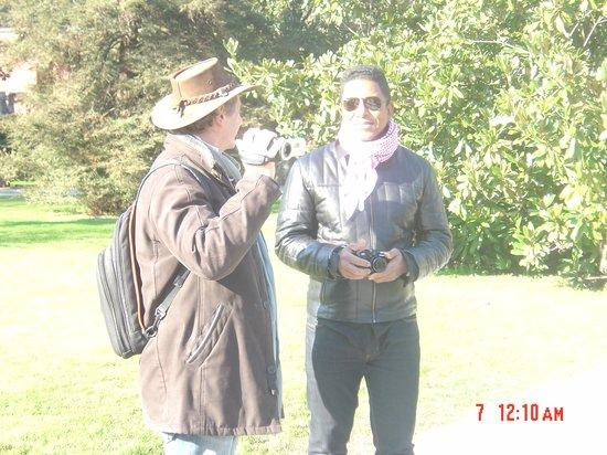 Arden Park Hotel: with Jermaine LaJaune Jackson