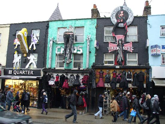 London, UK: Camden town