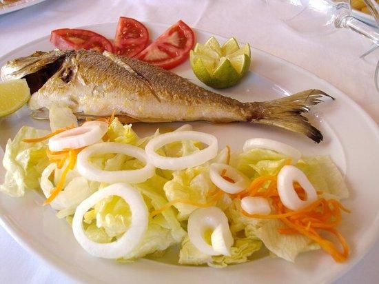 Restaurante Carmen: Dorada a la plancha